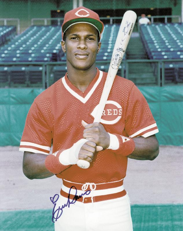 5/19/84Eric Davis makes his debut for the #Reds as a pinch hitter for Bob Owchinko.He'd terrorize the National League from 1986 through 1990 until injuries derailed his career. He was a monster.  #BorntoBaseball