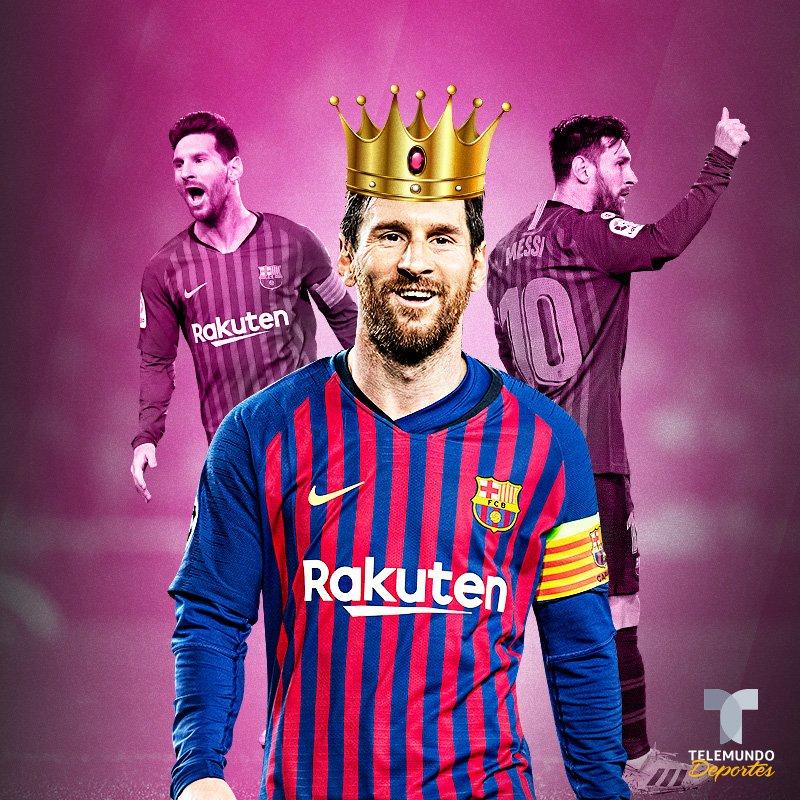 Telemundo Deportes's photo on #Messi