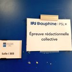 Image for the Tweet beginning: [Concours] A demain ! #ipjdauphine