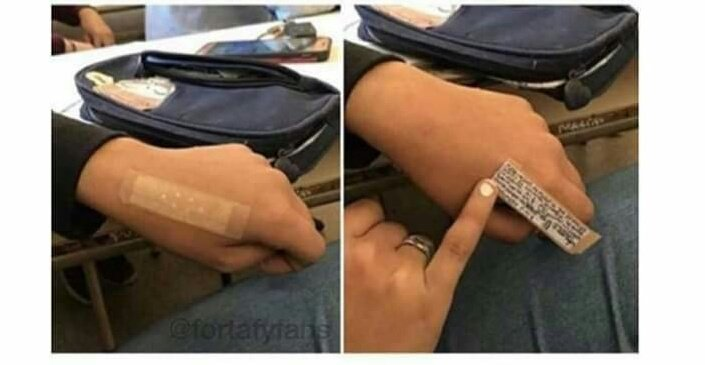 It's exam season and here is a mini thread to help with cheating tricks in exams.😊  Retweet this might help someone in yo' TL 🙏