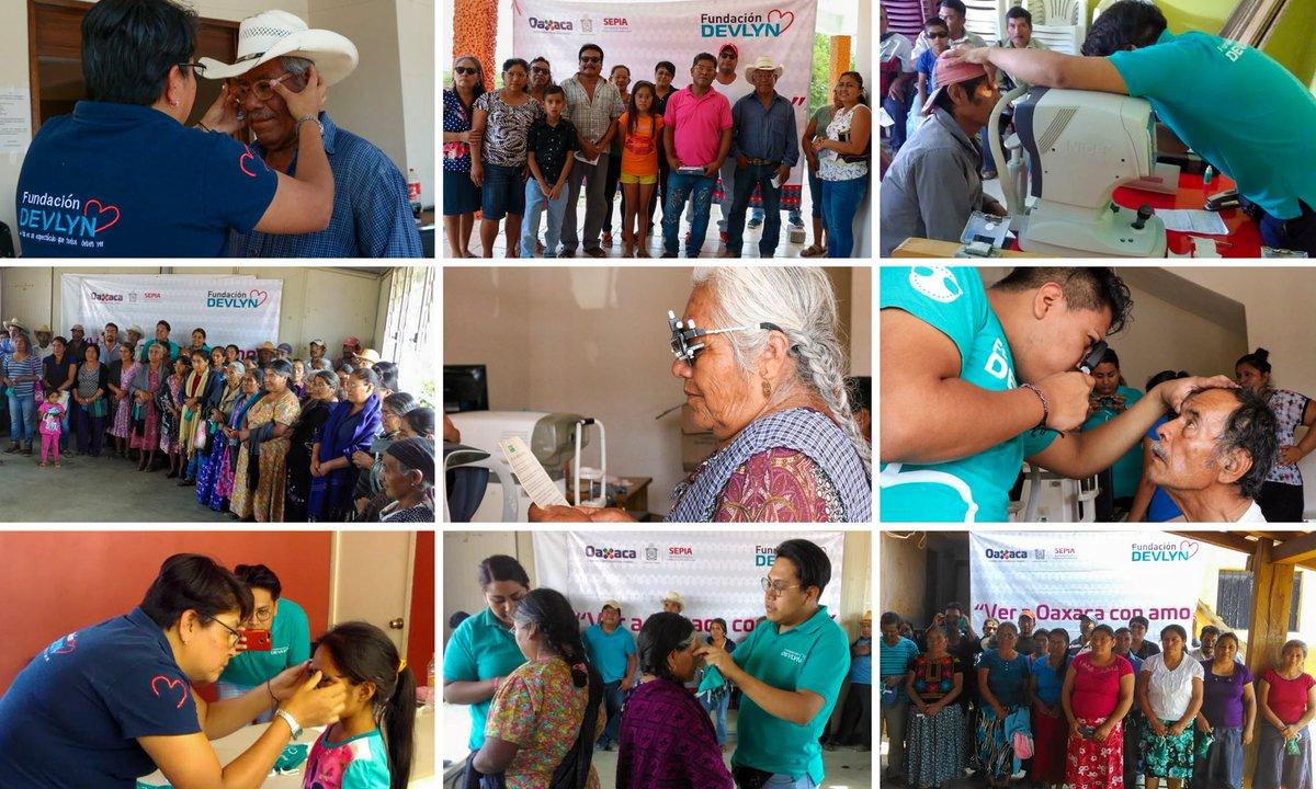 """Gracias al convenio que firmamos la @SEPIA_GobOax y la fundación @Opticas_Devlyn, esta semana arrancó la campaña de salud visual """"Ver a #Oaxaca con Amor"""". Recorrerá 50 comunidades de nuestro estado, acercando jornadas optométricas gratuitas a sus habitantes 👓"""