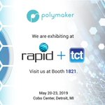 Image for the Tweet beginning: We are exhibiting at rapid+TCT