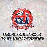 WE DID IT!!!!!!! AFC FYLDE ARE FA TROPHY WINNERS 2018-19!!!!!!!!!