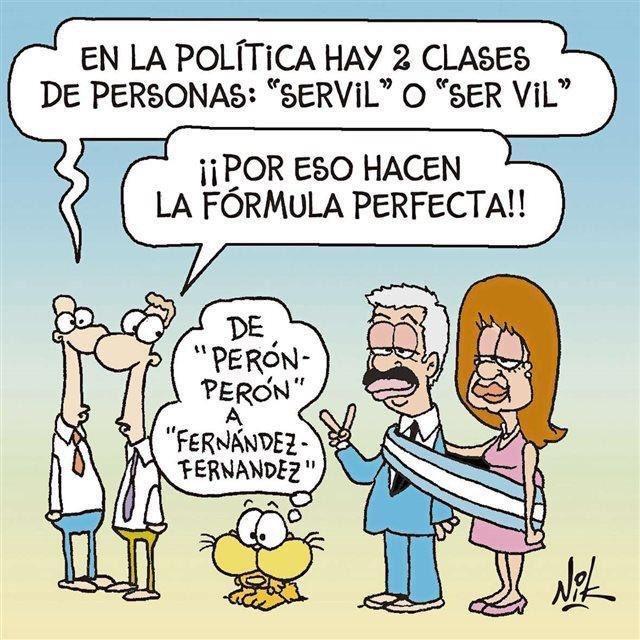 Acá Nik castiga feo a Alberto y CFK, pero con la banda presidencial encima. Hombre de poca fe 🤣.