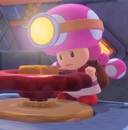Toadette is a Treasure Hunter, Archivist, Weaponry Engineer, Musician and now a CHEIF Construction Worker and Architect! WE STAN A QUEEN WITH MULTIPLE JOBS! ❤️💕💞⚒️🛠️💰💴 #Toadette #Mario #SuperMarioMaker2