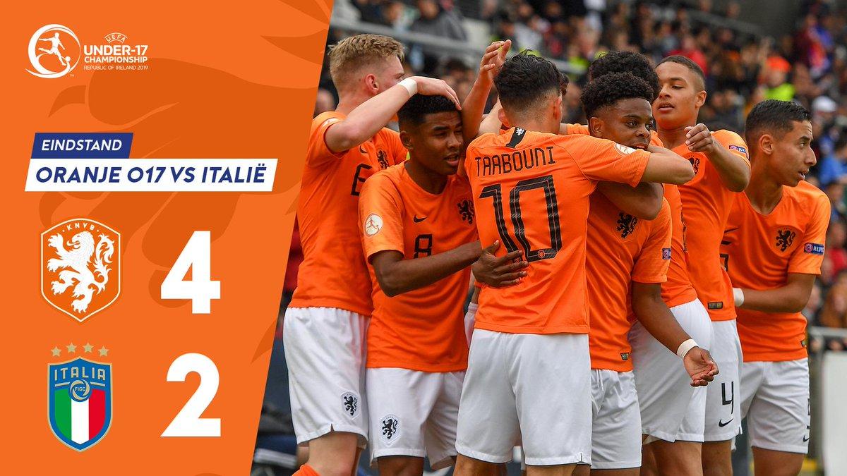 Afgelopen! Oranje onder 17 is Europees Kampioen! 🏆🇳🇱  #U17EURO #OranjeO17