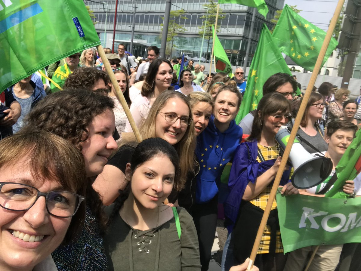 'No to Nationalism': Huge rallies in Germany before EU vote