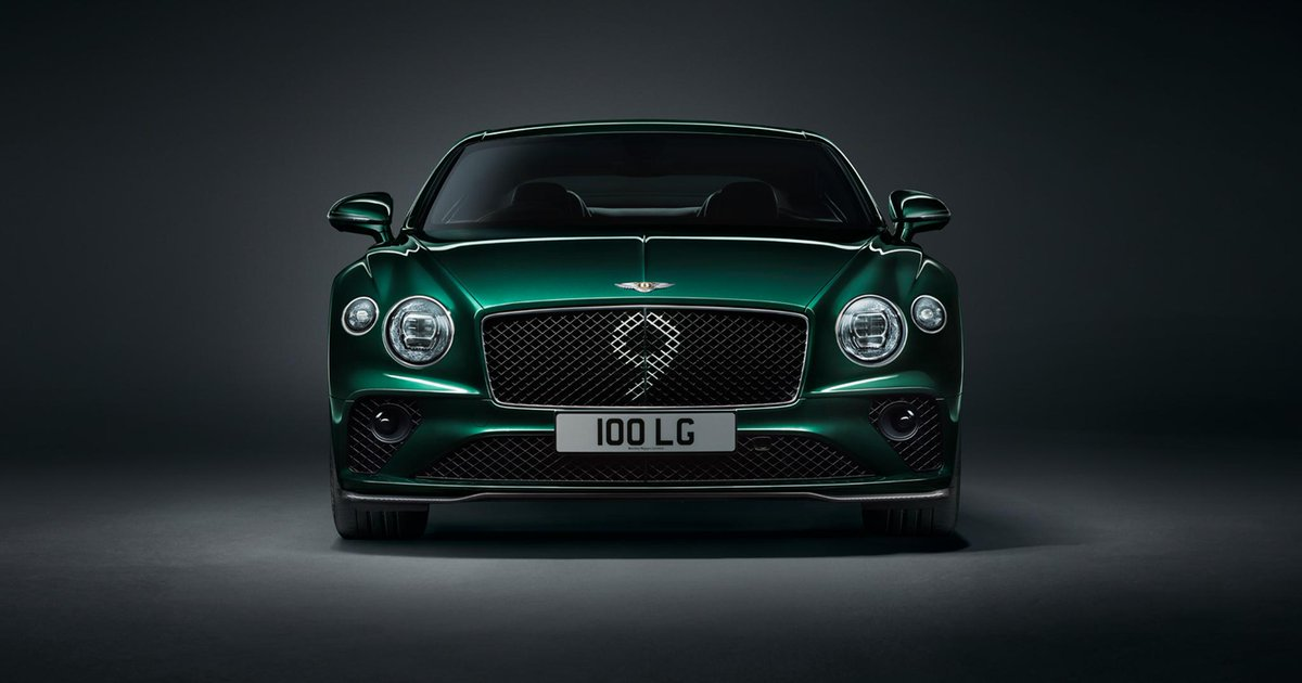 The #ContinentalGT Number 9 Edition by #Mulliner has a matrix grille inspired by the original No. 9 Blower. Learn more: http://bit.ly/2VCd2V8   Continental GT WLTP drive cycle: fuel consumption, mpg (l/100km) - Combined 20.8 (13.6). Combined CO2 – 308 g/km.