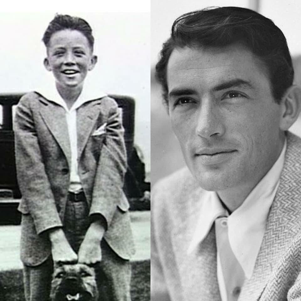 Gregory Peck, Carl Gable, James Dean y Cary Grant.#cine #cinema #actorslife