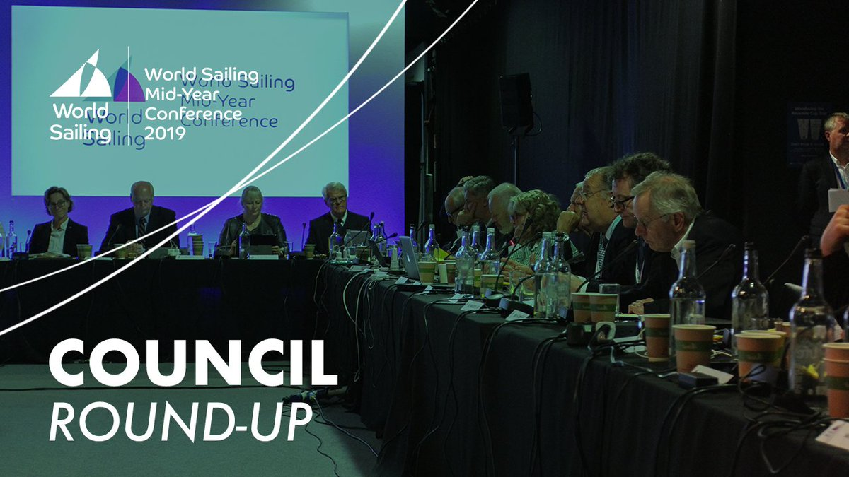 Image for the Tweet beginning: World Sailing's Council made key