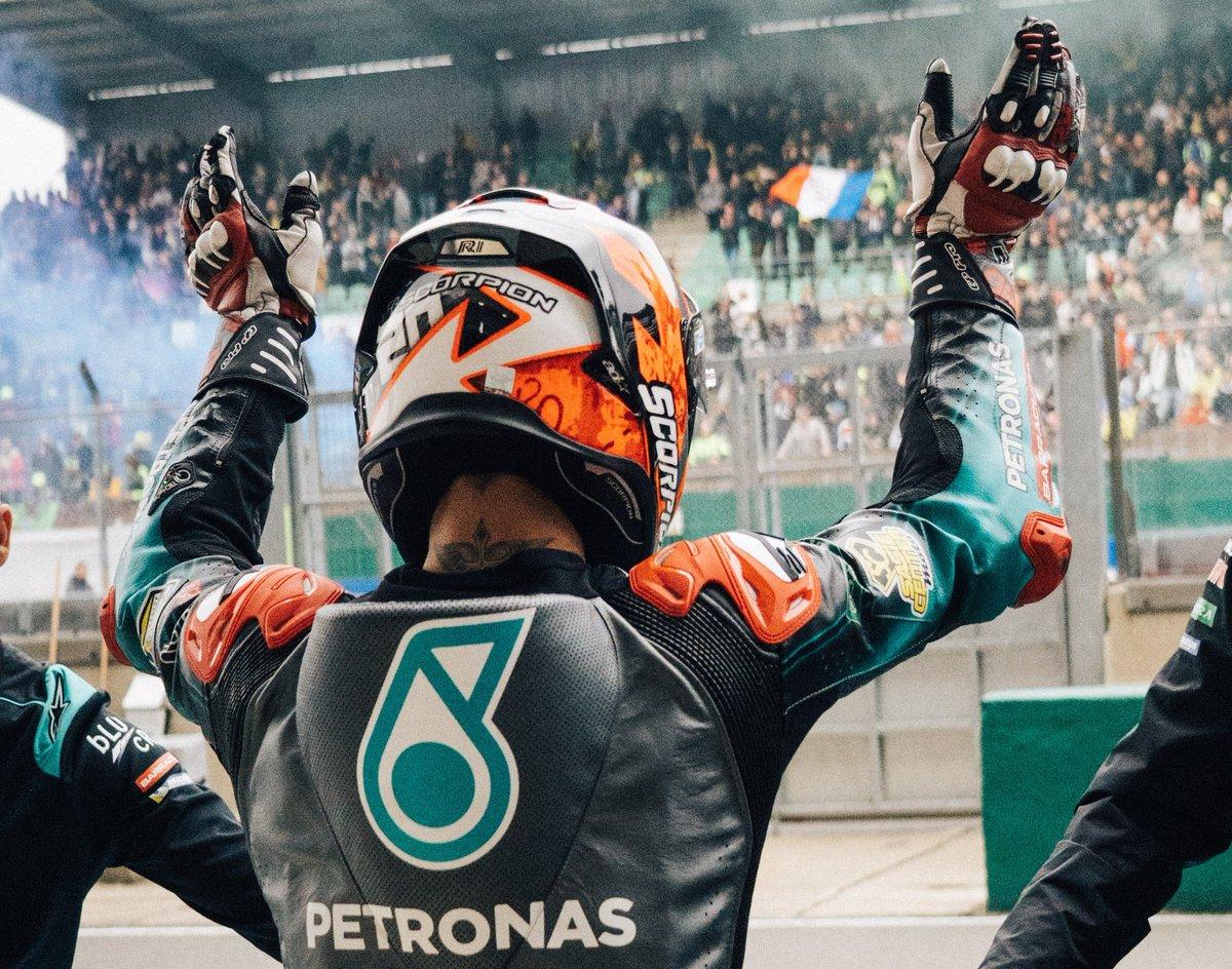 Au revoir Le Mans 👋🇫🇷   #FrenchGP #teamPETRONAS #PETRONASmotorsports #MotoGP
