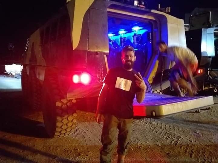ظهور مدرعات الاردنية المارد 8x8 و المومباي 6x6 و الوحش 4x4 في ليبيا D68t24kWkAAY80N