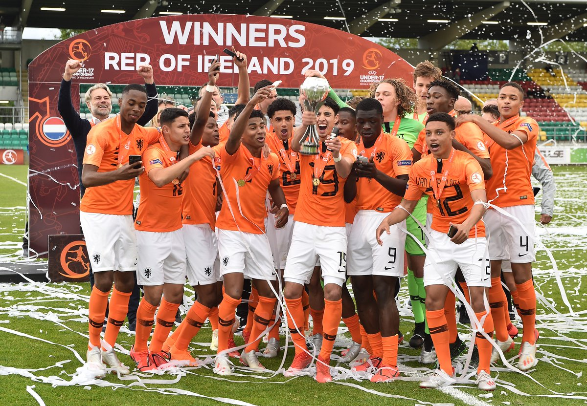 Netherlands are U17 European Champions! 🏆 The future is bright 🇳🇱