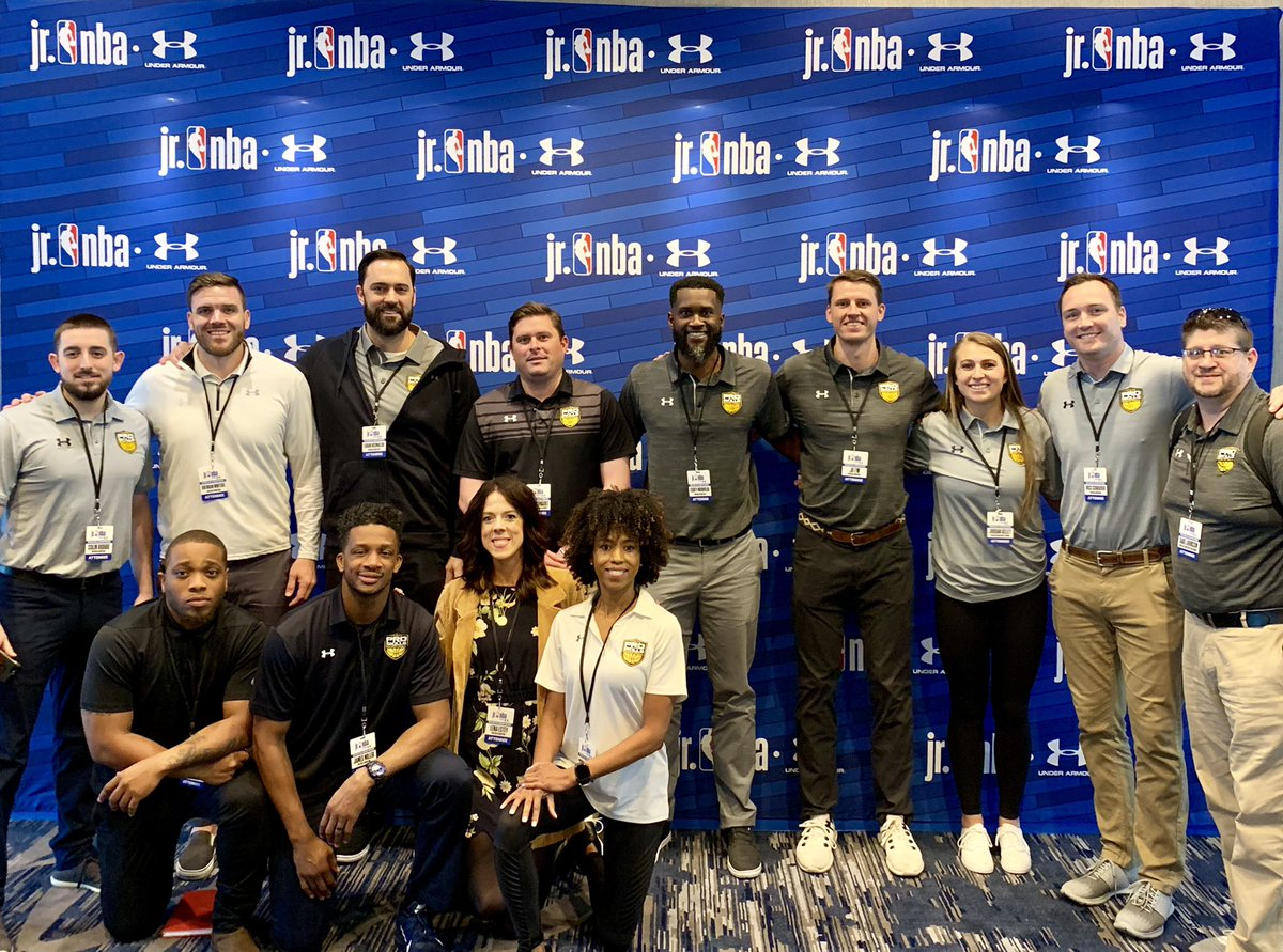 Finally back home after a great 3 days in Chicago for the @jrnba Youth Basketball Leadership Conference!  Had a lot of fun bringing a bunch of our @ProSkillsBball team out there. My favorite event of the year!  #jrnbauaconference #proskillsbasketball