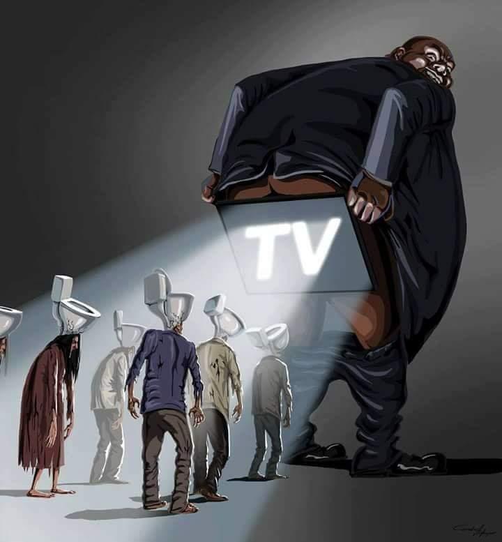 Noam Chomsky dijo una vez: La manipulación mediática hace mas daño que la bomba atómica, porque destruye los cerebros. Y esa es la realidad. Los medios dominantes generan un daño inconmensurable en las personas. Son destructores de cerebros. #ManipulaciónMediática