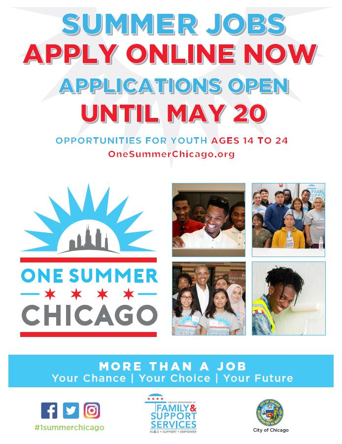 Summer Job Applications For 14 Year Olds In Chicago Job Retro