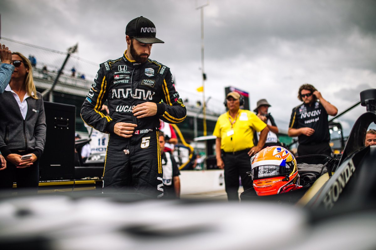 We're in.    #ArrowDriven // #5ToTheFront // @HondaRacing_HPD // #PetroCanadaLubricants // @SPMIndyCar // @ArrowGlobal // @INDYCAR // @IMS // #INDY500 // #ThisIsMay