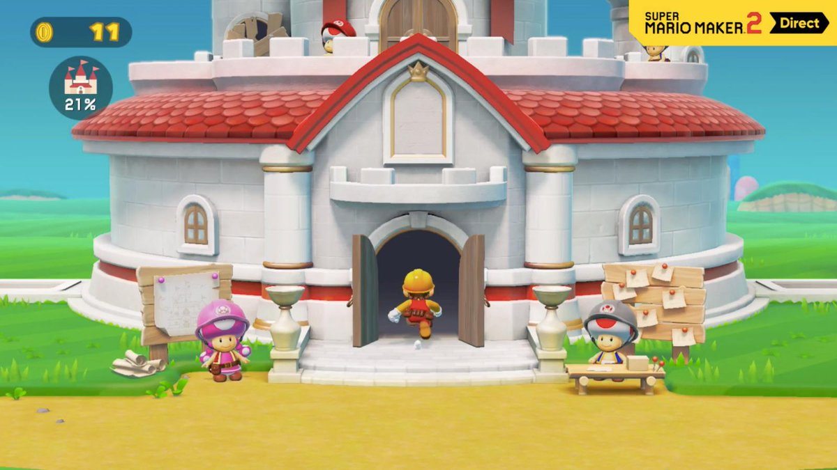 Super Mario Maker 2 will have a story mode, online multiplayer, and much more: bit.ly/2VMnZby