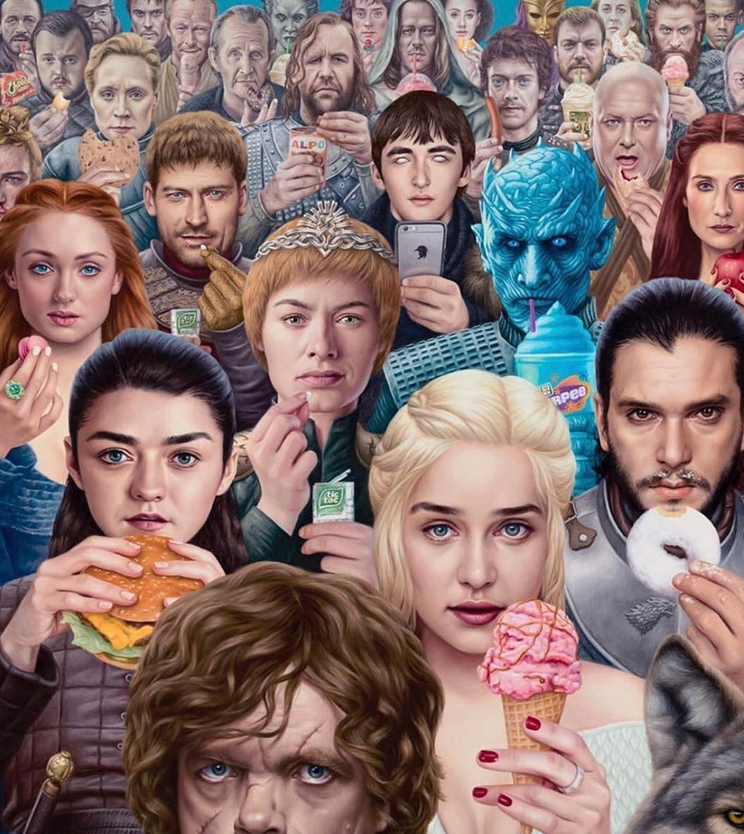 #GameOfThronesFinale #TheFinalEpisode  #GameOfThrones As we all watch tonight.<br>http://pic.twitter.com/auWGbCEqXd