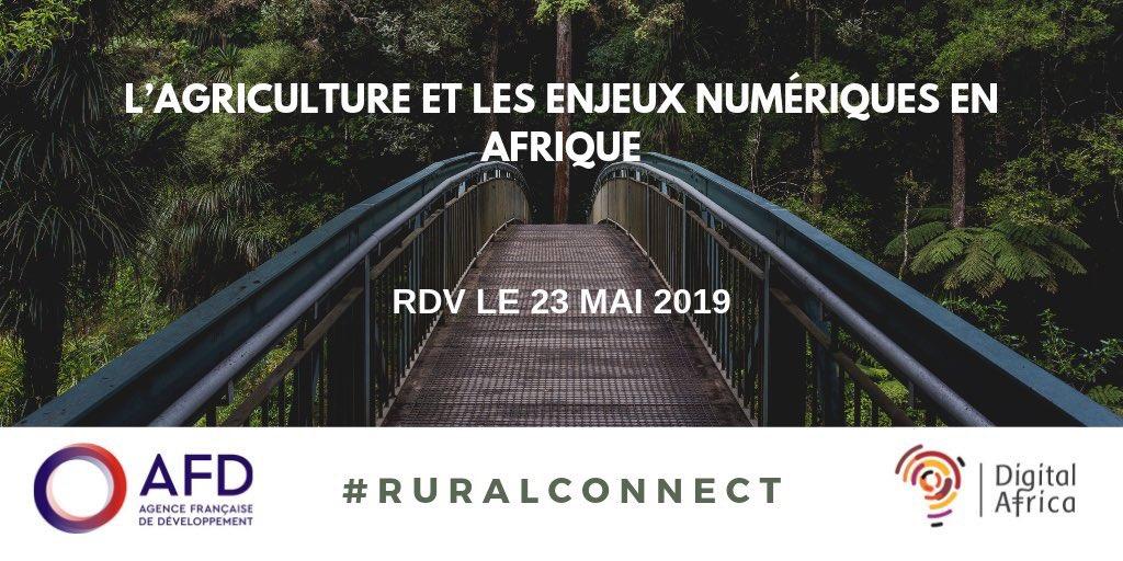J-4 pour LA conférence agriculture & numérique à ne pas manquer à l'@AFD_France . Panel 1️⃣/4️⃣  : Ici et la bas, comment (re)donner aux jeunes l'envie de devenir agriculteurs grâce au numérique. C'est complet mais à suivre sur Twitter avec @SILO76 #RuralConnect 👊🏽 https://t.co/8CxKB94gSo