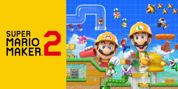 Already pre-ordered and ready to go! So excited for this release! Maybe it's time I make @GrandPOOBear a level or two 🤔 #SuperMarioMaker2 #VideoGamesBayBay @NintendoAmerica