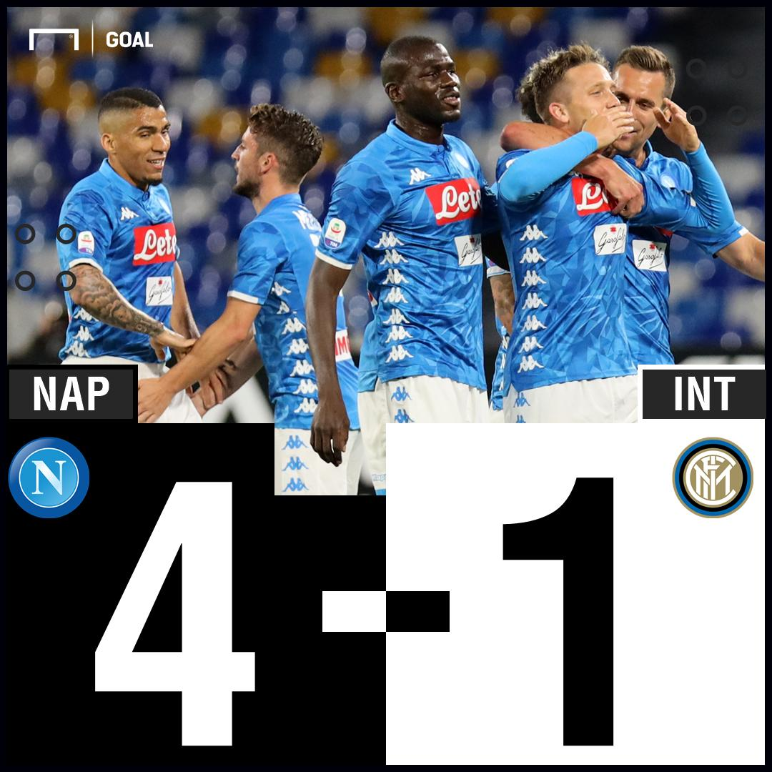 Absolute dominance from Napoli!💪
