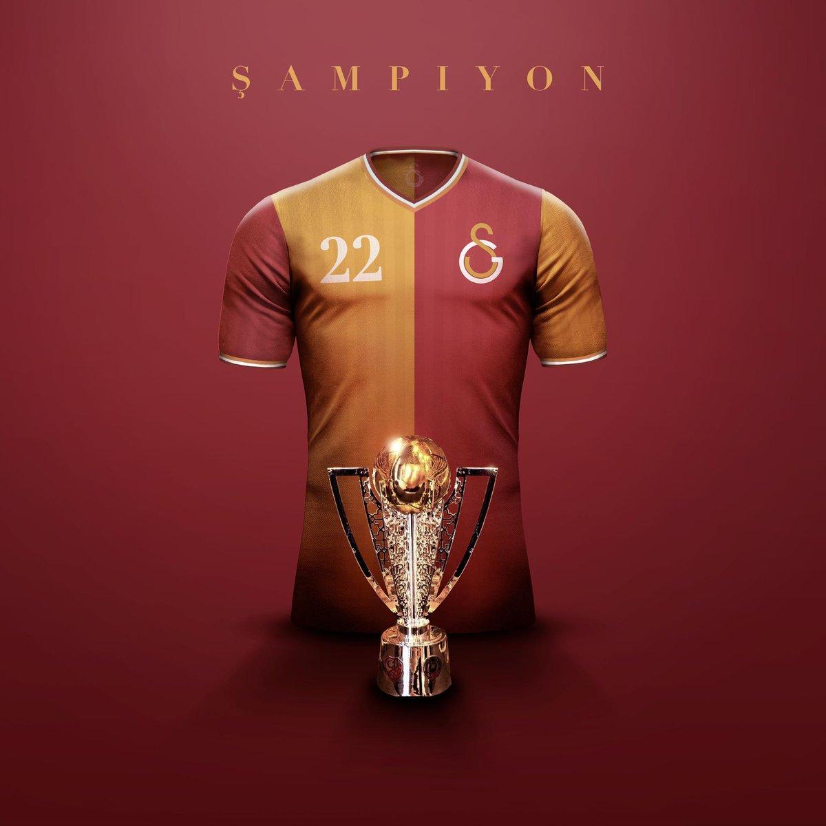 #Galatasaray Champions! 22