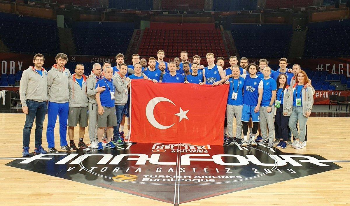 THY Avrupa Ligi finalini oynayan ve Avrupa ikincisi olan @AnadoluEfesSK'i tebrik ediyorum. Daha nice başarılara...