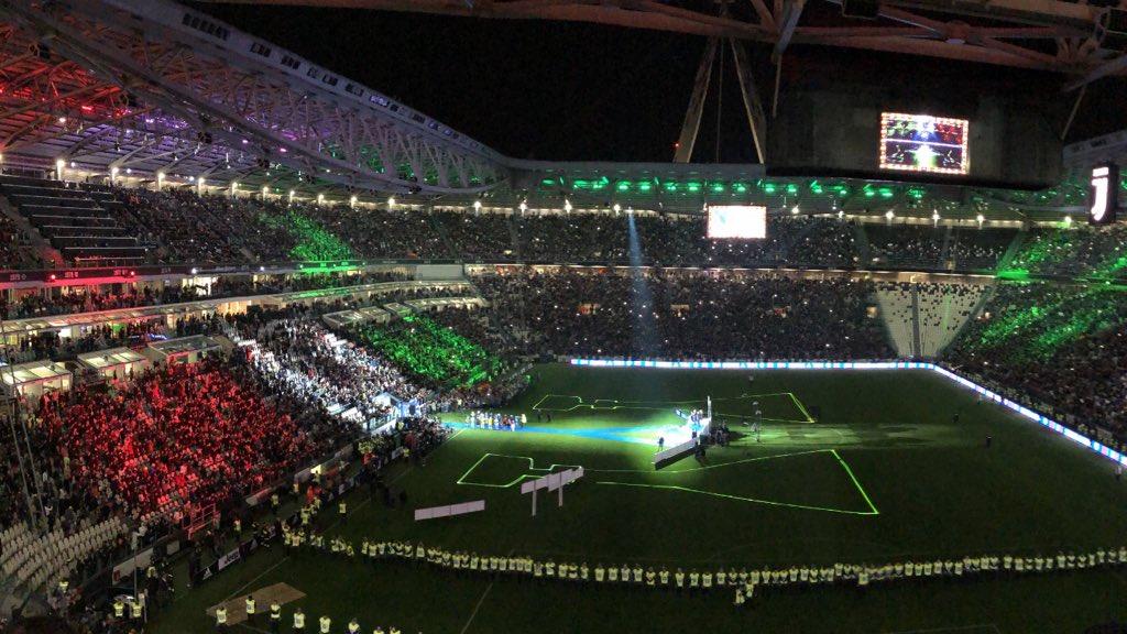 Serie A Cup celebration! ⚫️👊🏻