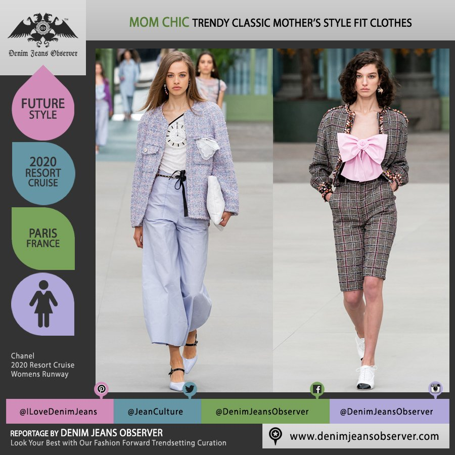 http://bit.ly/chanel-2020-resort-cruise-womens-fashion-paris-runway-mom-chic-tweed-wide-leg … Chanel 2020 Resort Cruise Womens #Chanel #ChanelCruise #VirginieViard #Paris #momchic #mother #momsclothes #momsfit #tweed #wideleg #palazzopants #shorts #bow #Resort2020 #Resort20 #PreSpring20 #fashion #womenswear #fashionshow #trendsetter #fashionforward