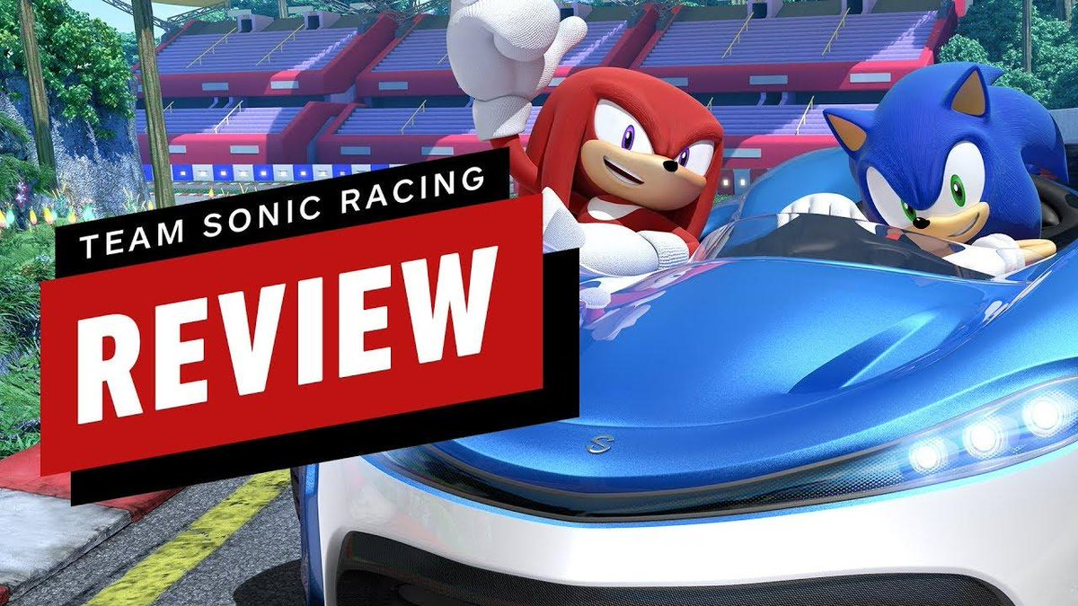 Team Sonic Racing hits the shelves this week! But does it have enough to stand apart from Mario Kart 8 Deluxe? bit.ly/2EiZPem