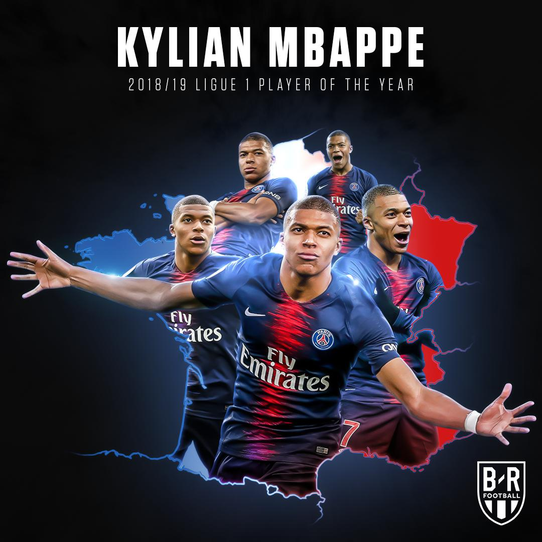 OFFICIAL: @KMbappe is named Ligue 1 Player of the Year! ⚡🇫🇷