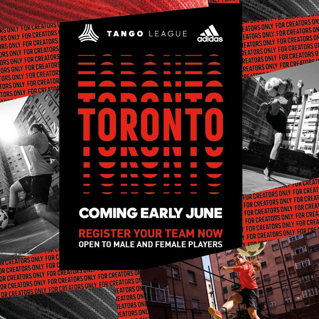 Create your fame, #TangoLeague Toronto is back.   Register your team now: http://a.did.as/6014EcTNE