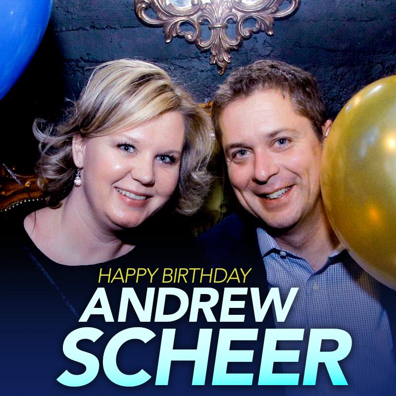 Happy Birthday, @AndrewScheer!  Sign his birthday card: http://cpcp.cc/q-uEbG  #cdnpoli