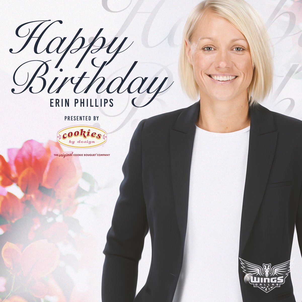 And a BIG happy birthday to our head Aussie - former player and current coach @erinphillips131! 🎉