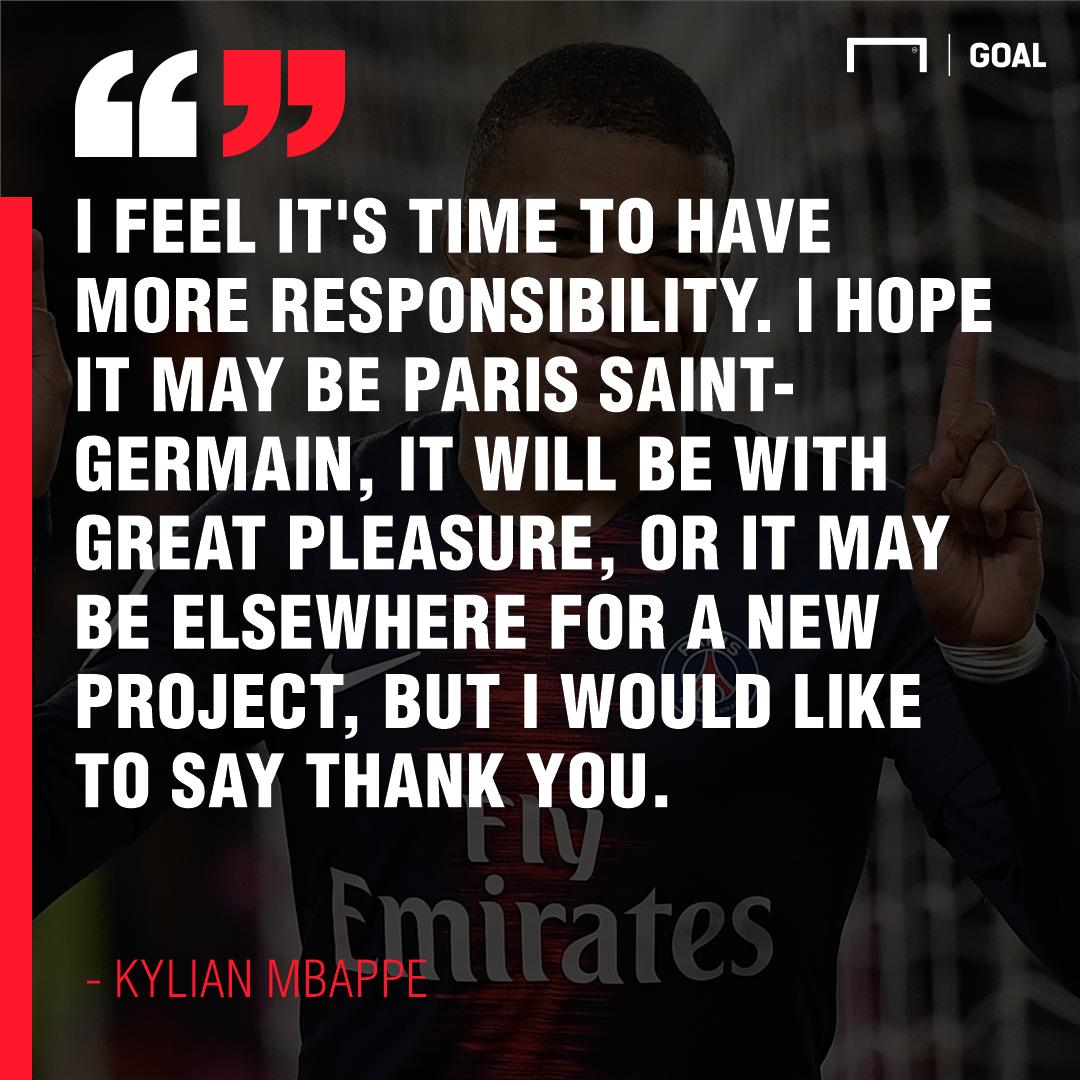 Mbappe has thrown his future into doubt by hinting that he could look elsewhere...😱 Could he really leave PSG?!? 😳