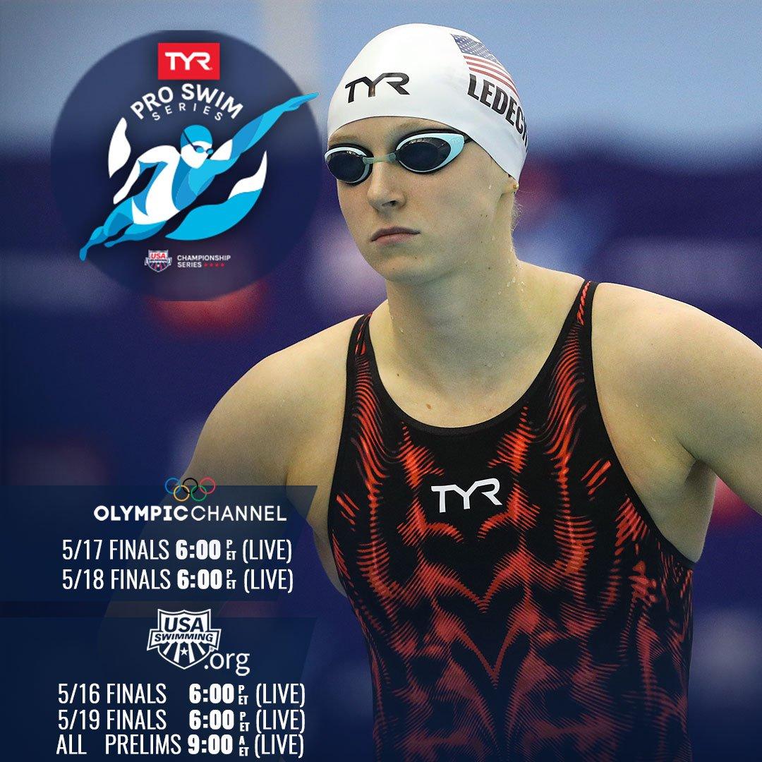 🏊♀️: #TYRProSeries  📍: #Bloomington 🕰: 6 PM ET 💻: http://www.usaswimming.org 📊: http://bit.ly/TPSSBloomingtonResults…