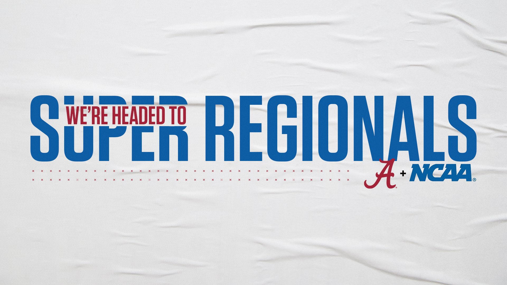 BamaSB  WINS TUSCALOOSA REGIONAL :  UA to host Texas for Super Regionals