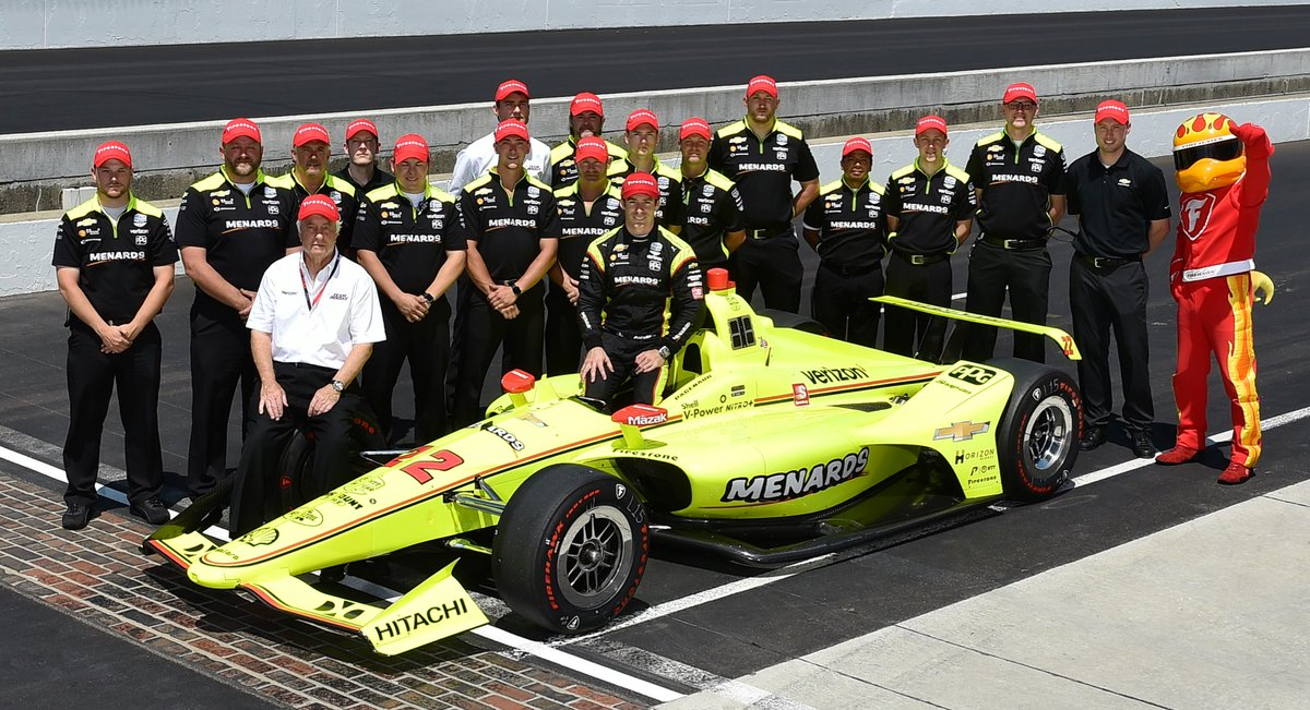 Congratulations to @simonpagenaud and the No 22 @Team_Penske crew for winning the #INDY500 pole 🎉 #INDYCAR // #ThisIsMay