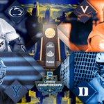 Image for the Tweet beginning: Your #NCAALAX Championship Weekend in