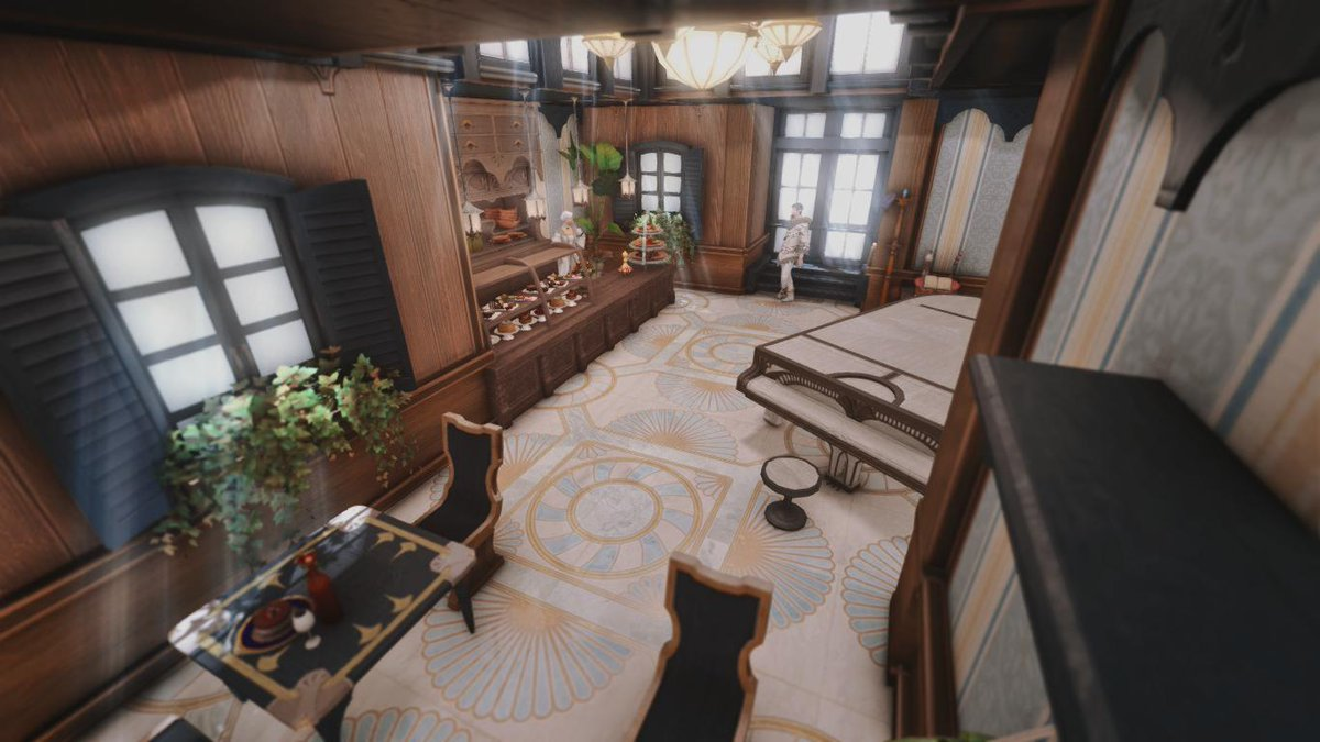 Laurent Colbernoux Endwalker Spoilers On Twitter I Finished My Apartment And Made A Little Pastry Cafe With Some Chilling Music And A Lot Of Light Come And Take A Piece Of