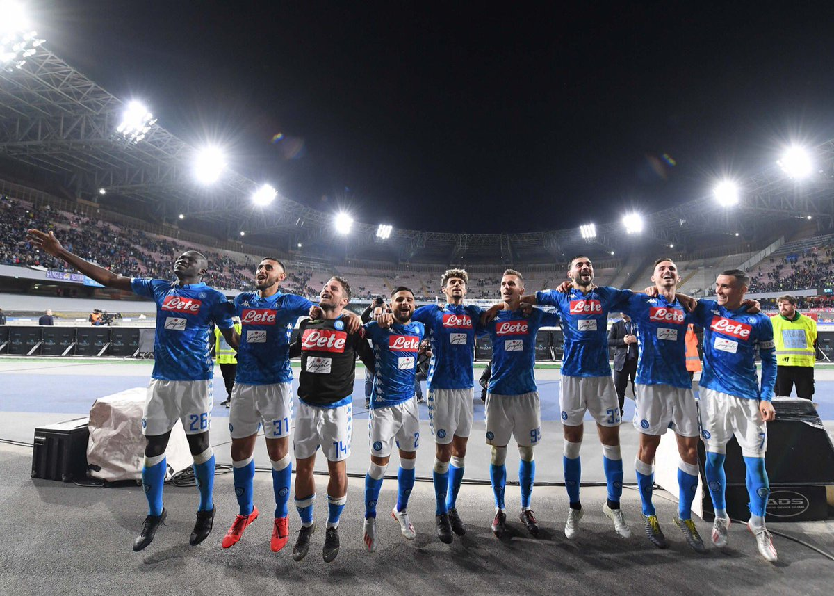 RT @en_sscnapoli: Until next season, San Paolo! 💙 #ForzaNapoliSempre https://t.co/Cck04ngDoN