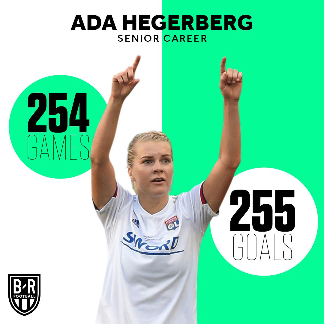More goals than games. Take a bow, @AdaStolsmo 👏