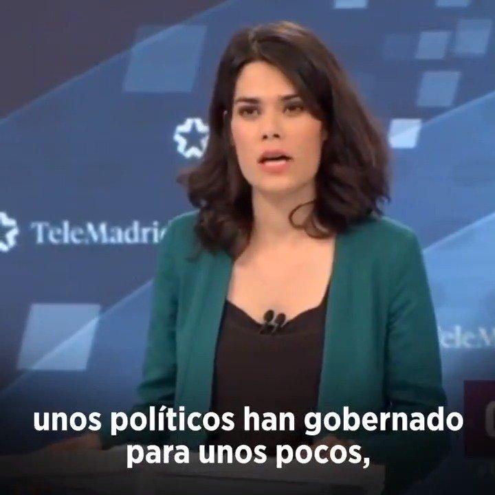 La Comunidad de Madrid debe decidir este domingo entre otros cuatro años de corruptelas, recortes y privatizaciones o un nuevo camino de mayor transparencia, más derechos sociales y mejores servicios públicos. Minuto de oro de @isaserras en el debate de Telemadrid 👇🏽