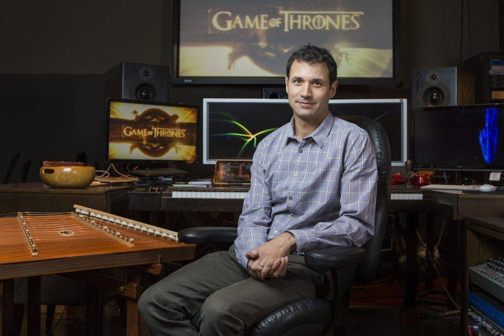 everyone give it up for the man, the myth, the legend, also known as mister ramin djawadi. the show would be nothing without his iconic music #GameOfThronesFinale