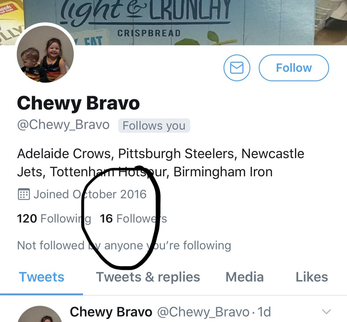 @Chewy_Bravo With that sort of gold this following will sky rocket