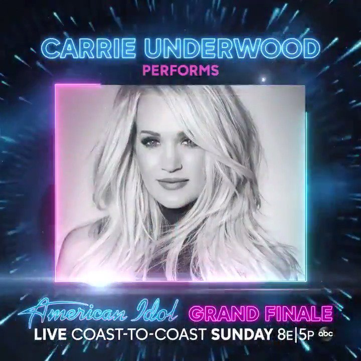 Image for the Tweet beginning: Carrie performs tonight on the
