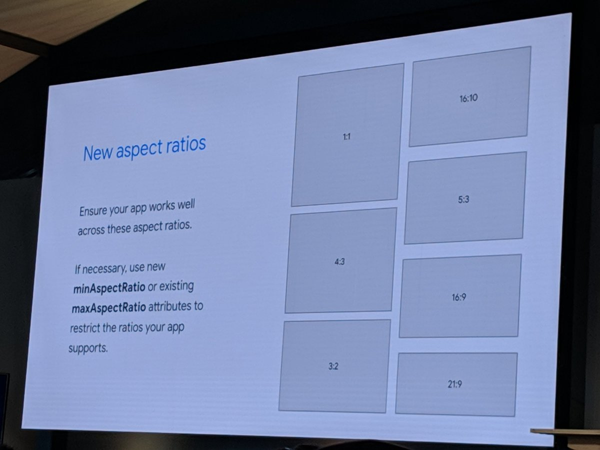 New configuration for Android Devices #io19