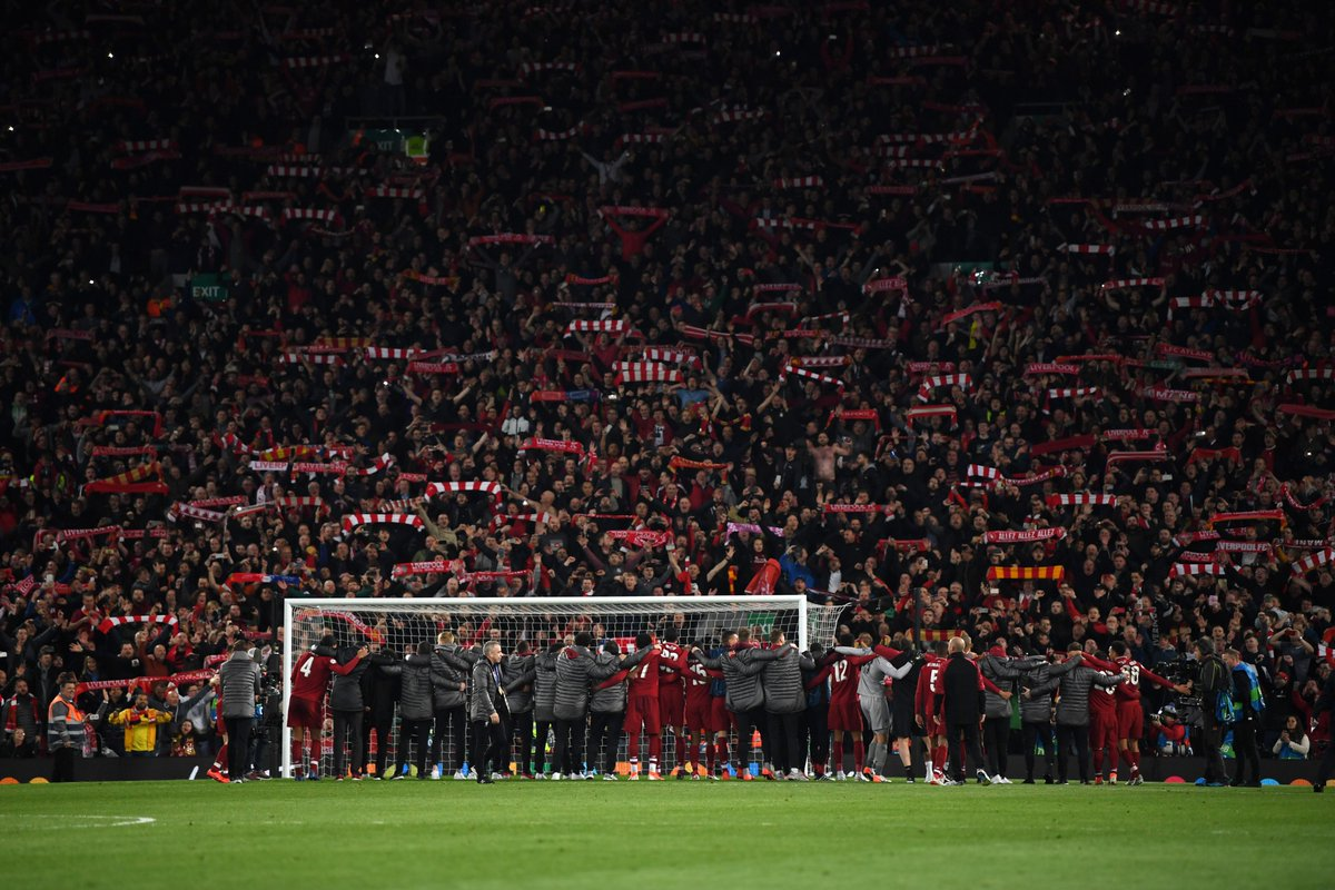 Fight. Passion. Determination. Spirit. What a comeback. What a team. What a club. #YNWA