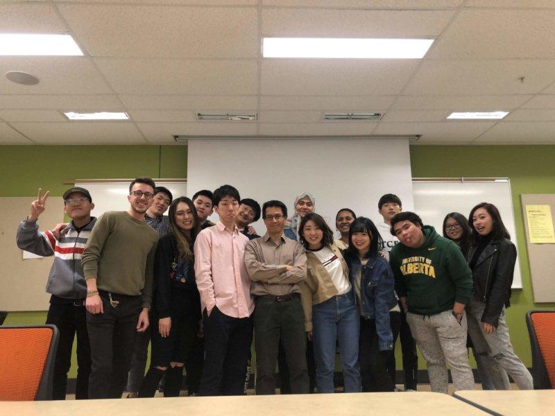 カナダ•アルバータ大学派遣留学報告書(4月)